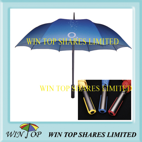 27 inch aluminum advertisement umbrella