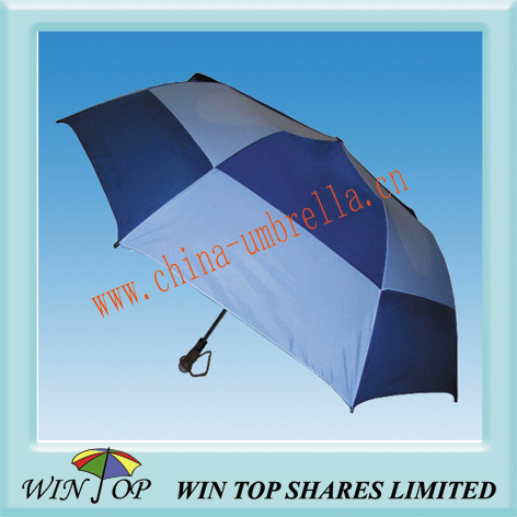 2 folding golf umbrella