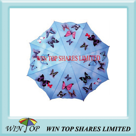 Particular design butterfly umbrella