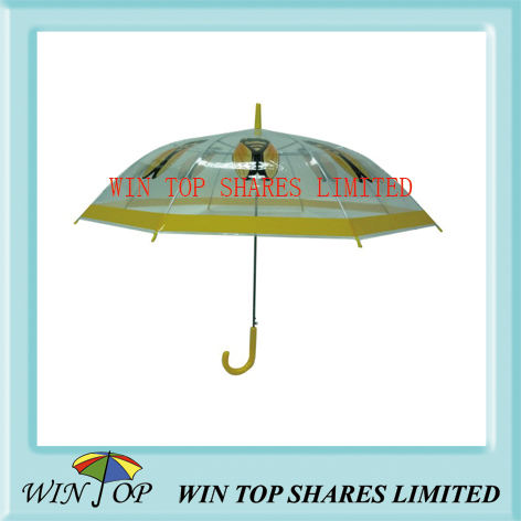 Bee logo printing PVC umbrella