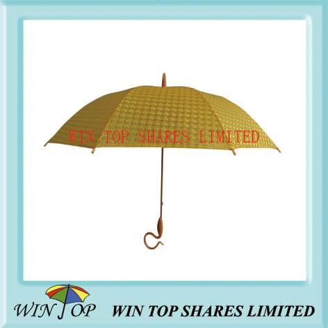 Yellow 3D POE umbrella