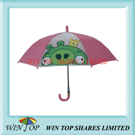 Angry Bird pink EVA umbrella