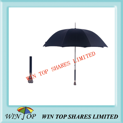 Fashionable straight skull umbrella