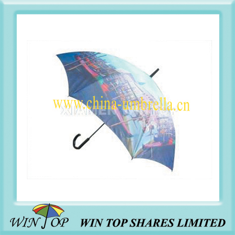 "23"" auto wooden good selling umbrella"