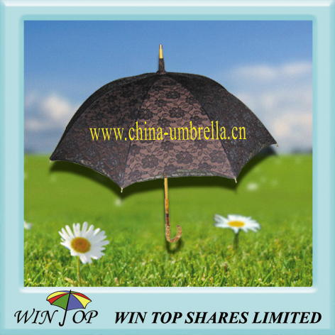 "21"" lace umbrella, lace parasol"