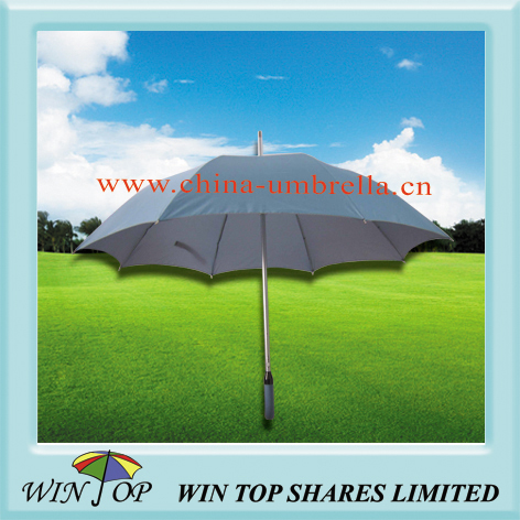 Auto straight UV protection aluminum umbrella