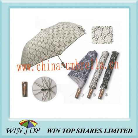 customised 2 fold umbrella