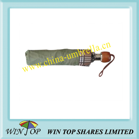 3 folds auto men's umbrella