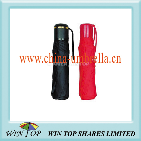 3 fold commerical cheap umbrella